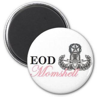 eod master momshell refrigerator magnet