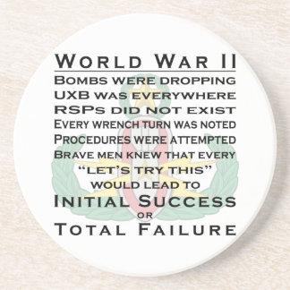 EOD Master WWII Coaster