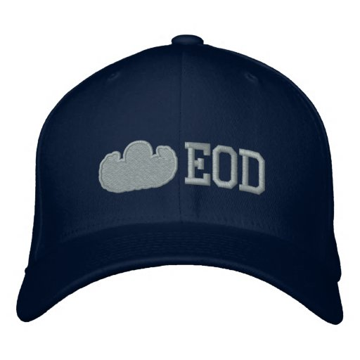 EOD outline Embroidered Baseball Hat
