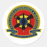 EOD School Round Stickers