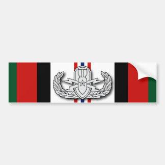 EOD Senior Afghanistan Car Bumper Sticker