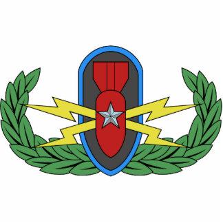 EOD Senior Badge Photo Sculpture