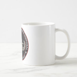 "EOD Senior ""Bomb Squad"" Coffee Mug"