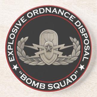"EOD Senior ""Bomb Squad"" Drink Coaster"