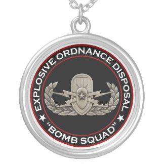 EOD Senior Bomb Squad Pendants