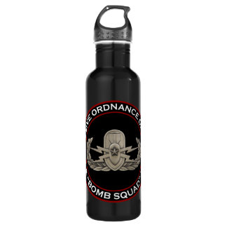 "EOD Senior ""Bomb Squad"" 24oz Water Bottle"