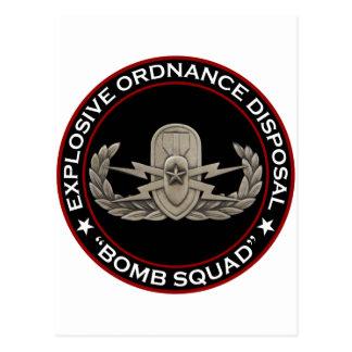 "EOD Senior ""Bomb Squad"" Postcard"