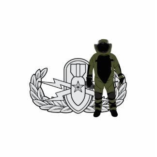 EOD Senior Bomb Suit Statuette