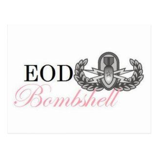 eod senior bombshell postcard