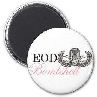 eod senior bombshell refrigerator magnet