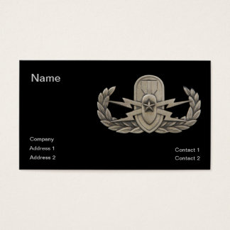 EOD Senior Business Card
