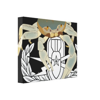 EOD Senior Crab Canvas Prints