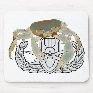 EOD Senior Crab Mouse Pad