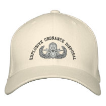 EOD Senior Embroidered Baseball Hat