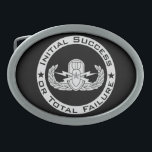 "EOD Senior ISoTF Oval Belt Buckle<br><div class=""desc"">EOD Senior badge with Initial Success or Total Failure.   Background color can be changed (depending on product type) and image can be resized/moved by using customize button.</div>"