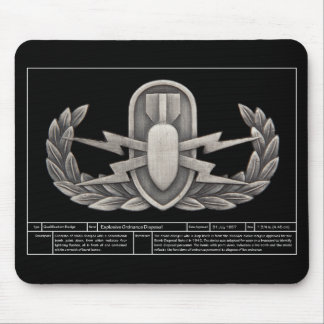 EOD Technical 2 Mouse Pad