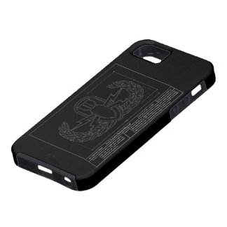 EOD Technical Drawing iPhone 5 Cover