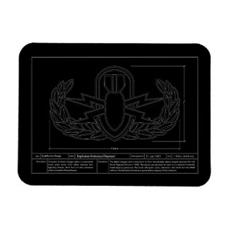 EOD Technical Drawing Magnet