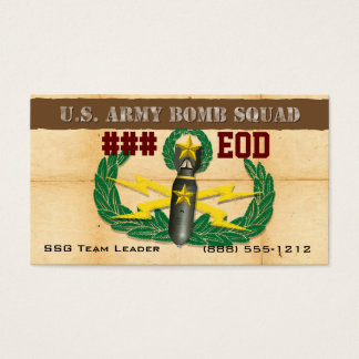 EOD Unit Business Card