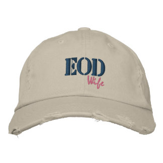 EOD, Wife Embroidered Baseball Hat