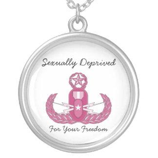 EOD Wife Round Pendant Necklace