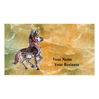 Eohippus Double-Sided Standard Business Cards (Pack Of 100)