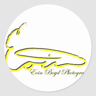 Eoin Boyd Products Classic Round Sticker