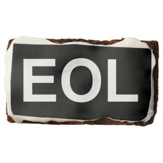 EOL End Of Life Chocolate Brownie
