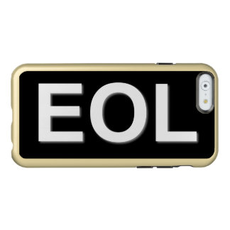 EOL End Of Life Incipio Feather Shine iPhone 6 Case