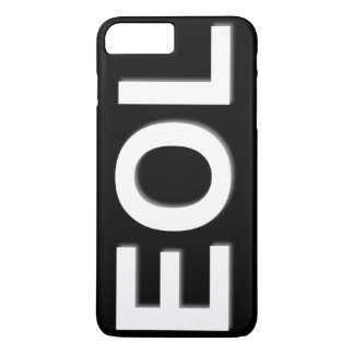 EOL End Of Life iPhone 8 Plus/7 Plus Case
