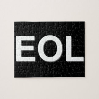 EOL End Of Life Jigsaw Puzzle