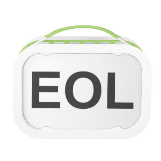 EOL End Of Life Lunch Box