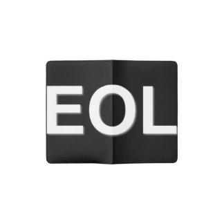 EOL End Of Life Pocket Moleskine Notebook