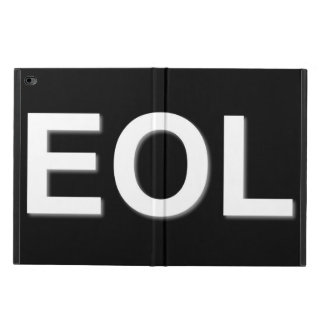 EOL End Of Life Powis iPad Air 2 Case