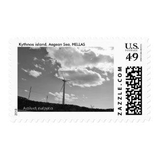 Eolic stamp