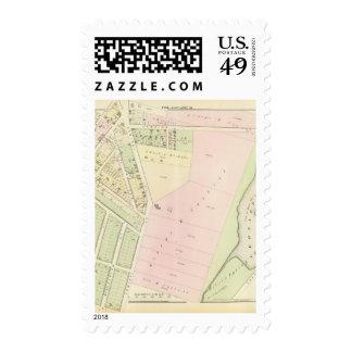 Eonard's Pond Atlas Map Postage Stamp
