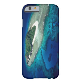 Eori Island, Mamanuca Islands, Fiji - aerial Barely There iPhone 6 Case