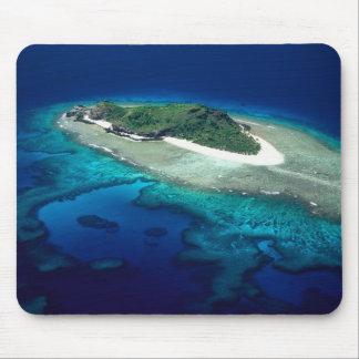 Eori Island, Mamanuca Islands, Fiji - aerial Mouse Pad