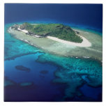 Eori Island, Mamanuca Islands, Fiji - aerial Tile