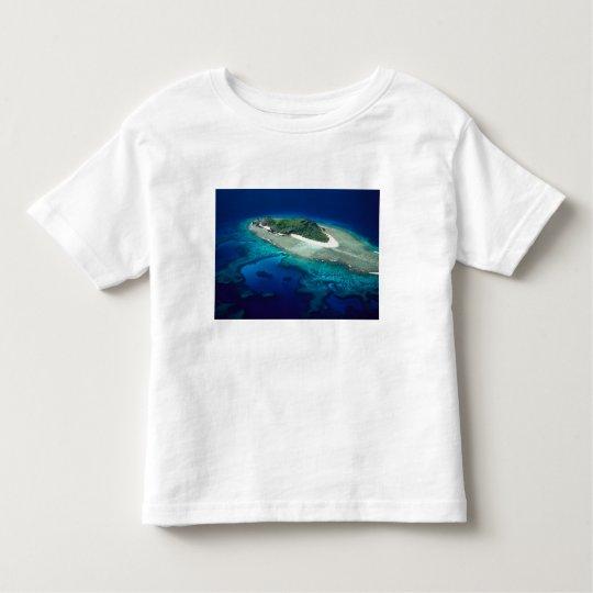 Eori Island, Mamanuca Islands, Fiji - aerial Toddler T-shirt
