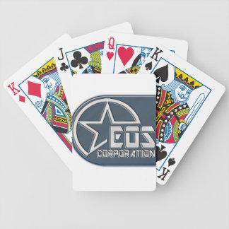 Eos Logo Bicycle Playing Cards