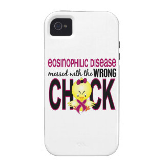 Eosinophilic Disease Messed With Wrong Chick iPhone 4 Case