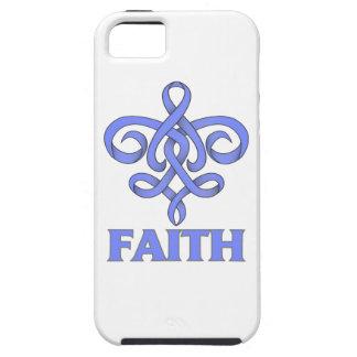 Eosinophilic Disorders Faith Fleur de Lis Ribbon iPhone 5 Cases