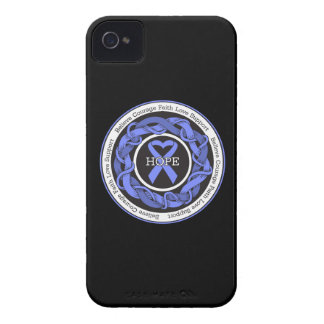Eosinophilic Disorders Hope Intertwined Ribbon Case-Mate iPhone 4 Case