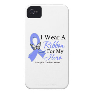 Eosinophilic Disorders I Wear a Ribbon For My Hero Case-Mate iPhone 4 Case