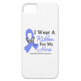 Eosinophilic Disorders I Wear a Ribbon For My Hero iPhone 5 Cases