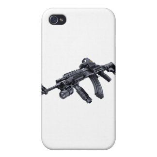 EOTech Sighted Tactical AK-47 Assault Rifle iPhone 4 Cases
