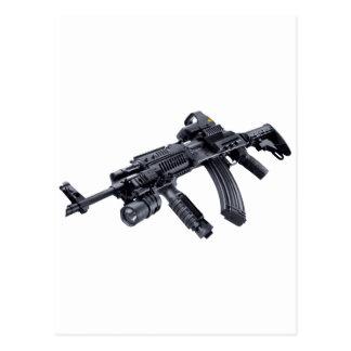 EOTech Sighted Tactical AK-47 Assault Rifle Postcard