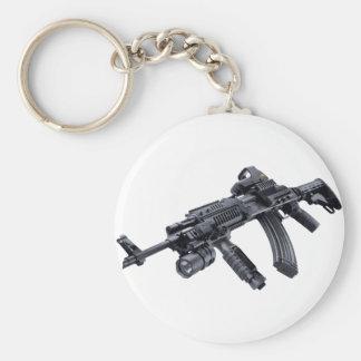EOTech vio el rifle de asalto táctico de AK-47 Llavero Redondo Tipo Pin