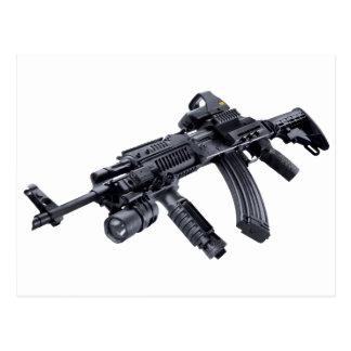 EOTech vio el rifle de asalto táctico de AK-47 Tarjetas Postales